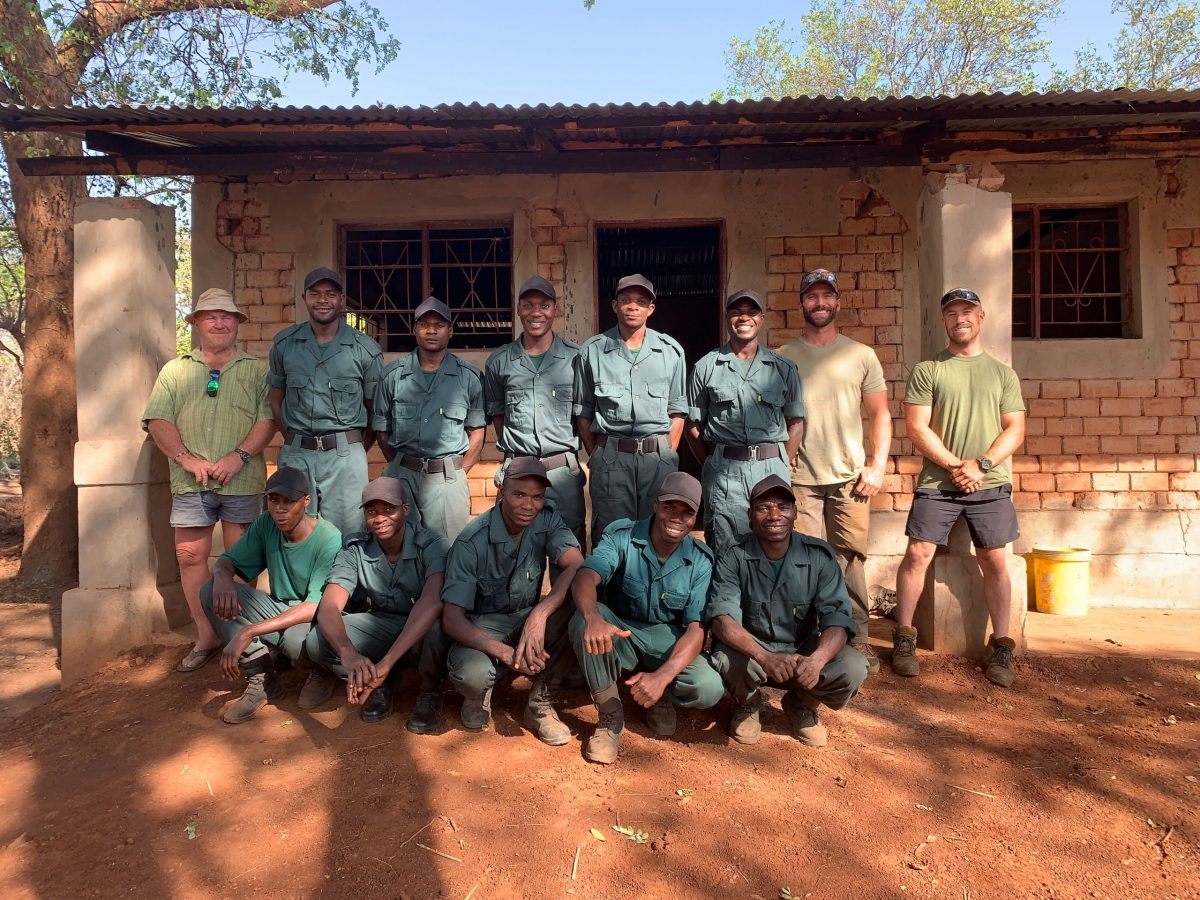 Soldiers for Wildlife group